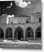 St Josephs Convent And Catholic Church St Joseph De L Apparition Larnaca Republic Cyprus Metal Print by Joe Fox