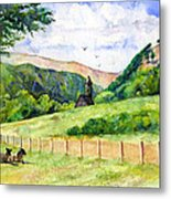 St. Kevin's And Wicklow Mountians Metal Print