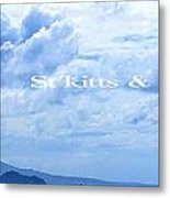 St Kitts And Nevis Poster Metal Print