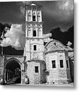 St Lazarus Church With Belfry Larnaca Republic Of Cyprus Europe Metal Print
