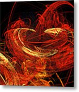 St Louis Abstract Metal Print