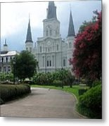 St. Louis Cathedral Ll Metal Print