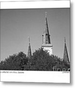 St. Louis Cathedral Metal Print