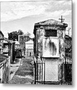St Louis Cemetery - New Orleans Metal Print