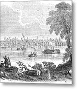 St. Louis, Missouri, 1854 Metal Print