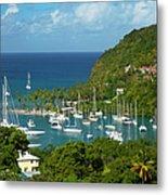 St Lucia Metal Print