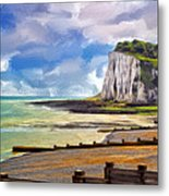St. Margaret's Bay At Dover Metal Print
