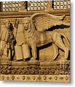 St. Mark The Winged Lion Metal Print by Chris Hill