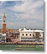 St. Marks Square Venice Metal Print