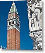 St Marks Tower Metal Print