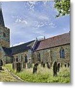 St Mary Lamberhurst Metal Print