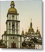 St Michaels Monastery In Kiev - Ukraine Metal Print