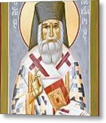 St Nektarios Metal Print by Julia Bridget Hayes