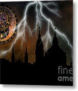 St Nikolas Church - Prague Metal Print