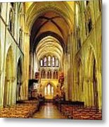St. Patricks Cathedral, Dublin, Ireland Metal Print