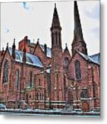 St. Paul S Episcopal Cathedral Metal Print