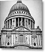 St. Paul's Cathedral In London Metal Print