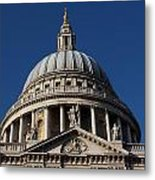 St Pauls Cathedral London Metal Print