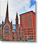 St. Paul's Episcopal Cathedral Metal Print