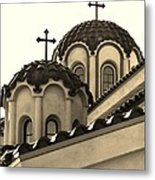St Piasius Metal Print