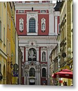 St Stanislaus Church Exterior Metal Print