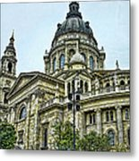 St Stephens Cathedral - Budapest Metal Print