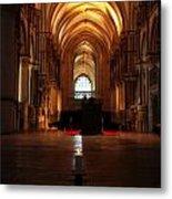 St Thomas Becket's Shrine Metal Print