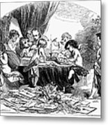 St. Valentines Day, 1856 Metal Print