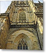 St Vitus Cathedral Prague - The Realms Of 'non-being' Metal Print
