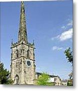 St Wystan's Church - Repton Metal Print