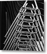 Stacks Of Chairs Metal Print