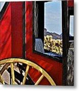 Stagecoach View Metal Print
