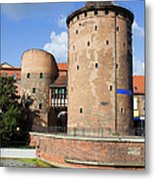 Stagiewna Gate Gothic Tower Metal Print
