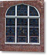 Stained Glass At St Paul Metal Print
