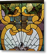 Stained Glass Lc 01 Metal Print