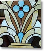 Stained Glass Lc 04 Metal Print