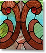 Stained Glass Lc 05 Metal Print