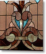 Stained Glass Lc 06 Metal Print