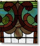 Stained Glass Lc 08 Metal Print