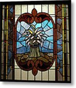 Stained Glass Lc 20 Metal Print