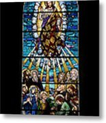 Stained Glass Pc 01 Metal Print