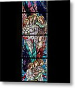 Stained Glass Pc 06 Metal Print