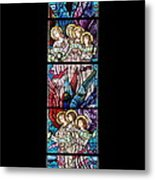 Stained Glass Pc 07 Metal Print