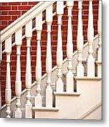 Stair Case Metal Print by Tom Gowanlock