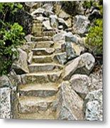 Staircase To Eagle Falls Lake Tahoe Metal Print