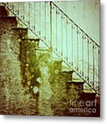 Stairs On A Rainy Day II Metal Print