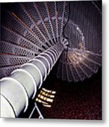 Stairs To The Light Metal Print by Skip Willits