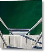 Stairs To The Water Metal Print