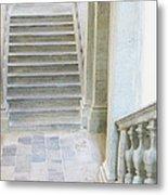 Stairway In Radovlica Metal Print