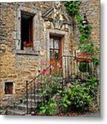Stairway Provence France Metal Print